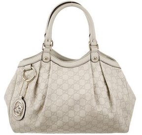 Gucci Guccissima Medium Sukey Bag - NEUTRALS - STYLE