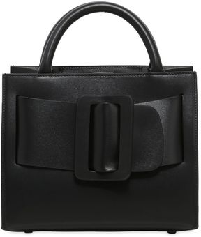 Bobby 23 Brushed Leather Top Handle Bag