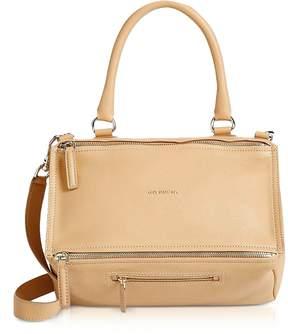 Givenchy Light Beige Leather Medium Pandora Crossbody Bag