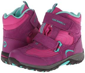 Merrell Moab Polar Mid Strap 2.0 Waterproof (Big Kid)