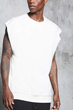 21men 21 MEN French Terry Muscle Sweatshirt
