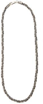 Emanuele Bicocchi Braided sterling-silver necklace