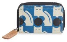 Orla Kiely Poppy Cat Zip-Around Wallet