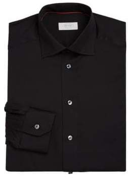 Eton Contemporary-Fit Solid Dress Shirt