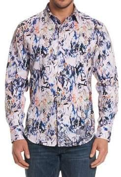 Robert Graham Jardin Artful-Print Sport Shirt