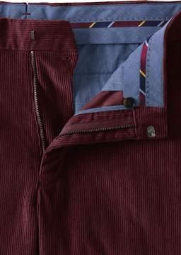 Lands' End Lands'end Men's Tailored Fit Plain Front 10-wale Corduroy Trousers