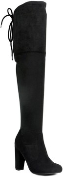 Refresh Randy Over The Knee Suede Boot