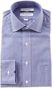 Daniel Cremieux Non-Iron Slim-Fit Spread Collar Textured Solid Dress Shirt