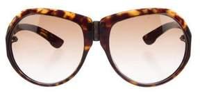 Bottega Veneta Gradient Oversize Sunglasses