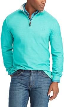 Chaps Big & Tall Classic-Fit Quarter-Zip Pullover Sweater