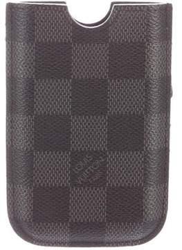 Louis Vuitton Damier Graphite iPhone 3 Case