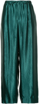 ESTNATION wide leg trousers