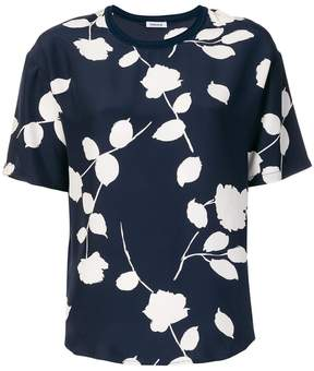 P.A.R.O.S.H. leaf print T-shirt