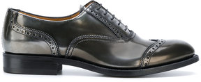 Church's metallic finish brogues