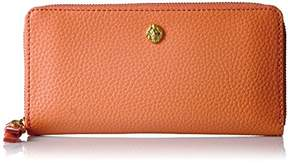 Anne Klein Women's Slim Zip Around Wallet