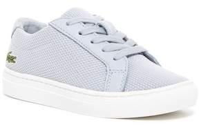 Lacoste L.12.12 Woven Sneaker (Little Kid)