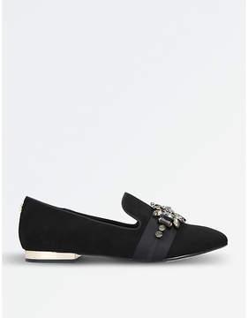 Carvela Lottie embellished flat loafers