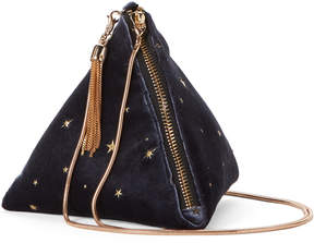 La Regale Midnight Diamond Velvet Crossbody