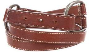 Max Mara Weekend Leather Waist Belt