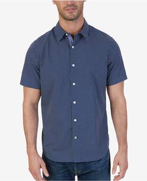 Nautica Men's Classic-Fit Micro-Dot Shirt