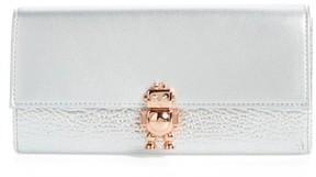 Ted Baker Women's Robot Leather Matinee Wallet - Metallic