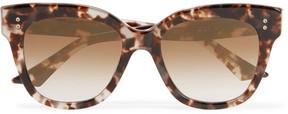Dita Daytripper Square-frame Acetate Sunglasses - Tortoiseshell