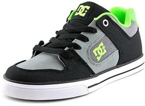 DC Pure Tx Se Round Toe Canvas Skate Shoe.
