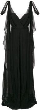 Alberta Ferretti layered sleeveless dress