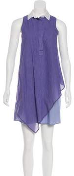 Band Of Outsiders Sleeveless Collared Dress