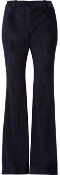 Acne Studios Corduroy Flared Pants - Midnight blue