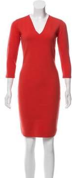 D-Exterior D. Exterior Gathered Midi Dress