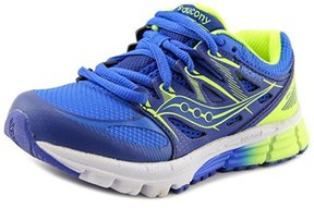 Saucony Zealot Youth W Round Toe Synthetic Blue Running Shoe.