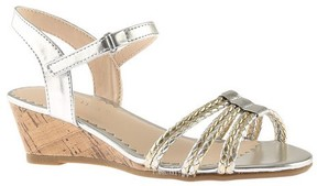Nine West Girls' Gabbey Quarter Strap Sandal