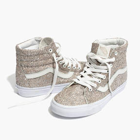 Madewell Vans® Unisex SK8-Hi High-Top Sneakers in Glitter