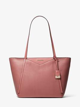 MICHAEL Michael Kors Whitney Large Pebbled Leather Tote