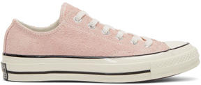 Converse Pink Suede Chuck Taylor All Star 1970s Sneakers