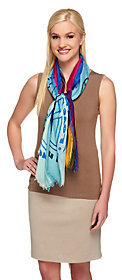 Collection XIIX As Is Collection 18 Love the Life You Live Printed Scarf