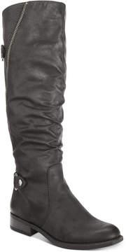 White Mountain Leto Riding Boots Women's Shoes