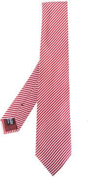 Giorgio Armani diagonal stripes tie