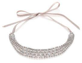 Jennifer Behr Clara Crystal Net Headwrap