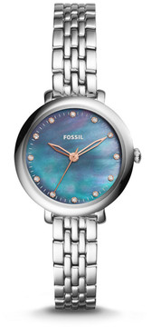 Fossil Jacqueline Three-Hand Stainless Steel Watch