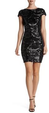 Dress the Population Women's Tabitha Sequin Body-Con Dress