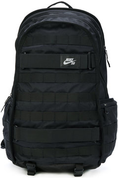 Nike logo patch backpack