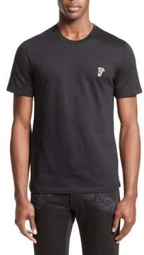 Men's Versace Collection Half Medusa Patch T-Shirt