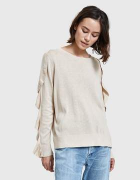 Which We Want Wave Pullover in Ecru