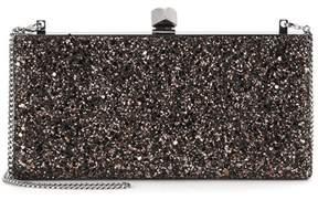 Jimmy Choo Celeste glitter clutch