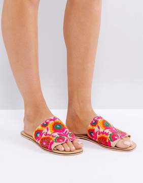 Asos FORT Embroidered Mules