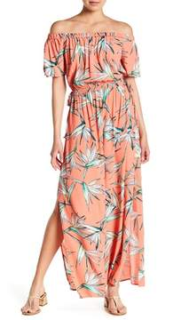 1 STATE 1.State Off-the-Shoulder Maxi Dress