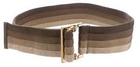 Gucci Woven Waist Belt