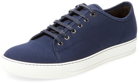 Lanvin Men's Cap-Toe Low Top Sneaker